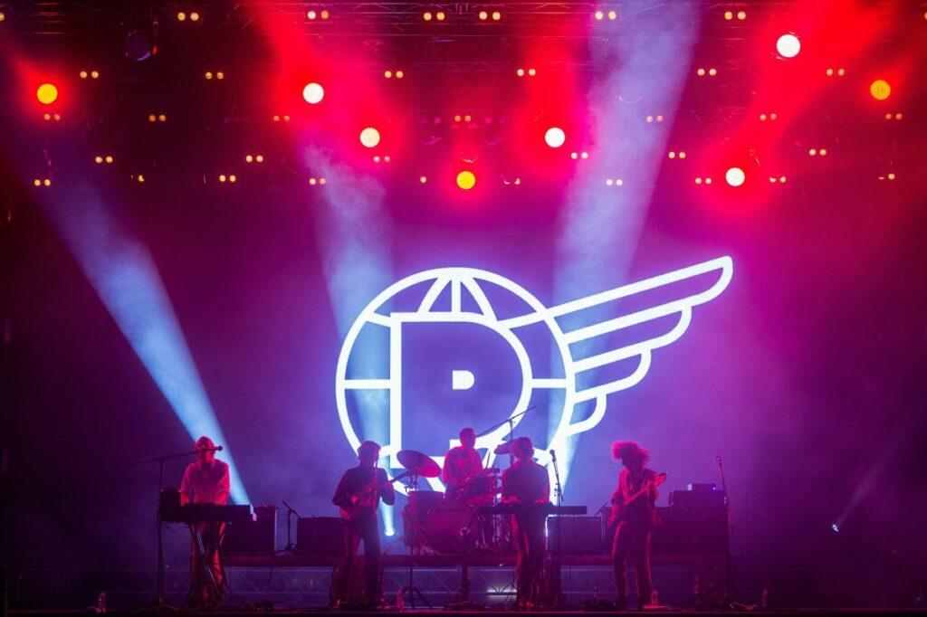 Az ausztrál Parcels koncertje a 27. Sziget fesztiválon 2019. augusztus 11-én /// Fotó: MTI/Balogh Zoltán